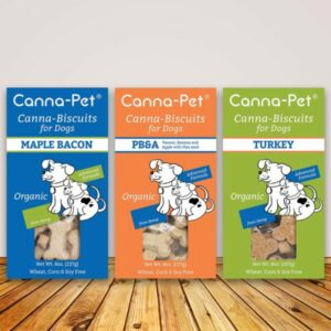 Package: Canna-Pet® Organic Biscuit Assortment - 3 Boxes Organic